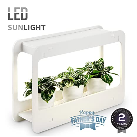 Amazon plant grow led light kit indoor herb garden with timer plant grow led light kit indoor herb garden with timer function 24v low voltage workwithnaturefo