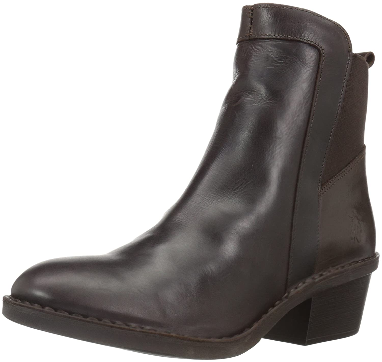 Dark Brown Rug Fly London Womens DICY940FLY Ankle Boot