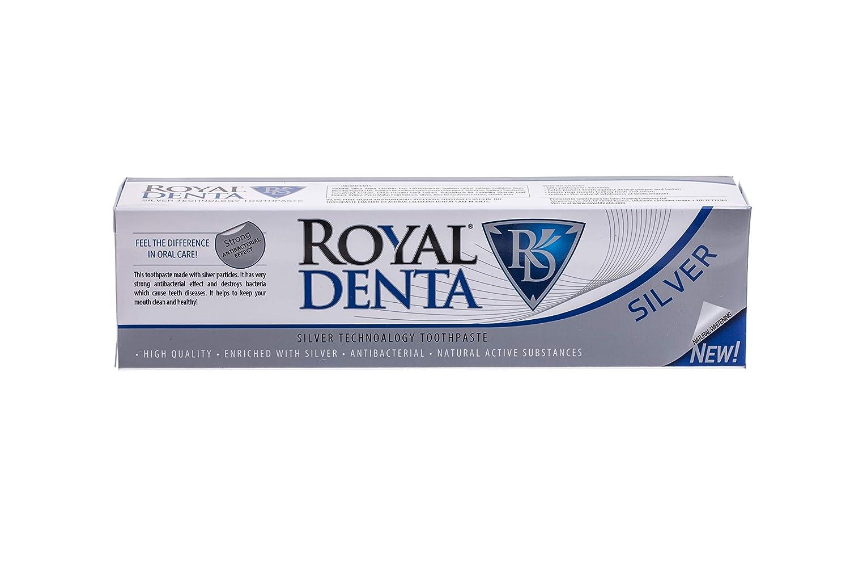 Royal Denta de Plata, Pasta de diente 130gr.: Amazon.es: Salud y cuidado personal