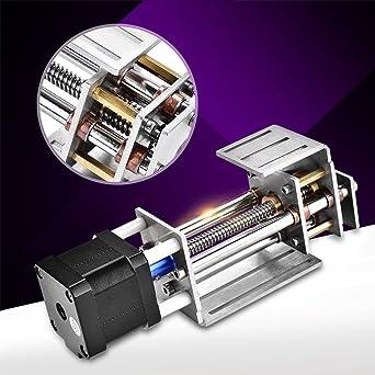 Fresado de carril de guía de movimiento lineal, deslizador de ejes Z de 60 mm y