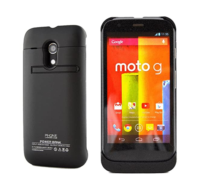 low priced f38eb 2bdbb Amazon.com: Battery Case for Motorola Moto G (1st Gen) by Phone ...