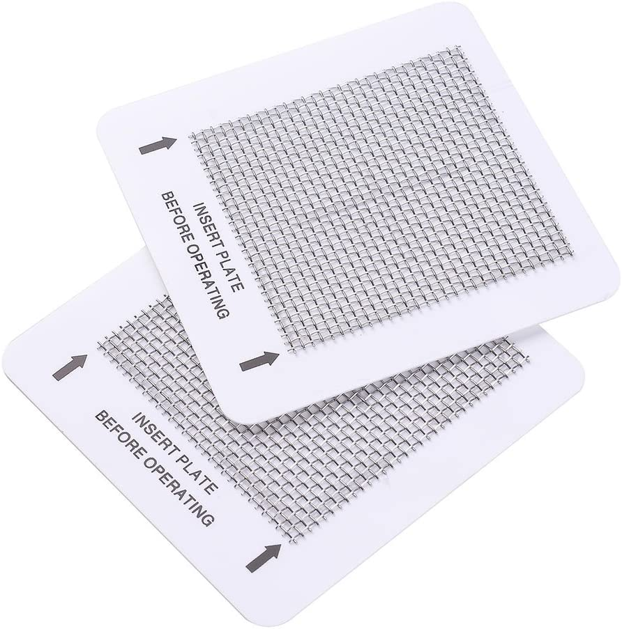 Yescom 2 Pack Ceramic Ozone Plates for Popular Home Air Purifiers 4.5