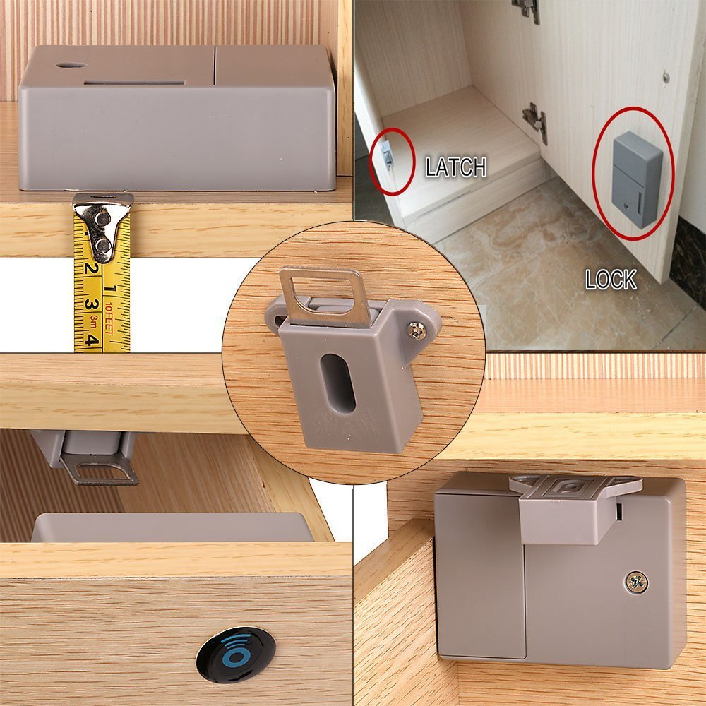 RFID Locks for Cabinets Hidden DIY Lock - Electronic Cabinet Lock, RFID Card/Tag/Wristband Entry by wooch (Image #6)
