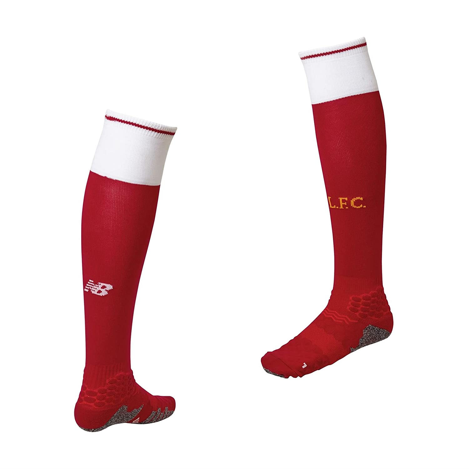 2017-2018 Liverpool Home Socks (Red) B071VG94KZRed Medium 6-8 UK Foot