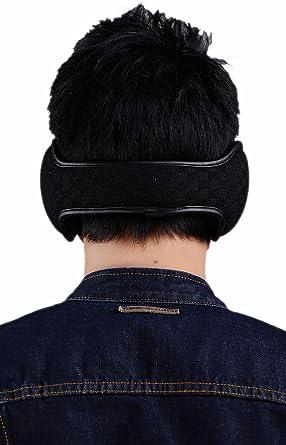 Ear Warmers For Men Women Foldable Fleece Unisex Winter Warm Earmuffs Outdoor Skiing,Biking