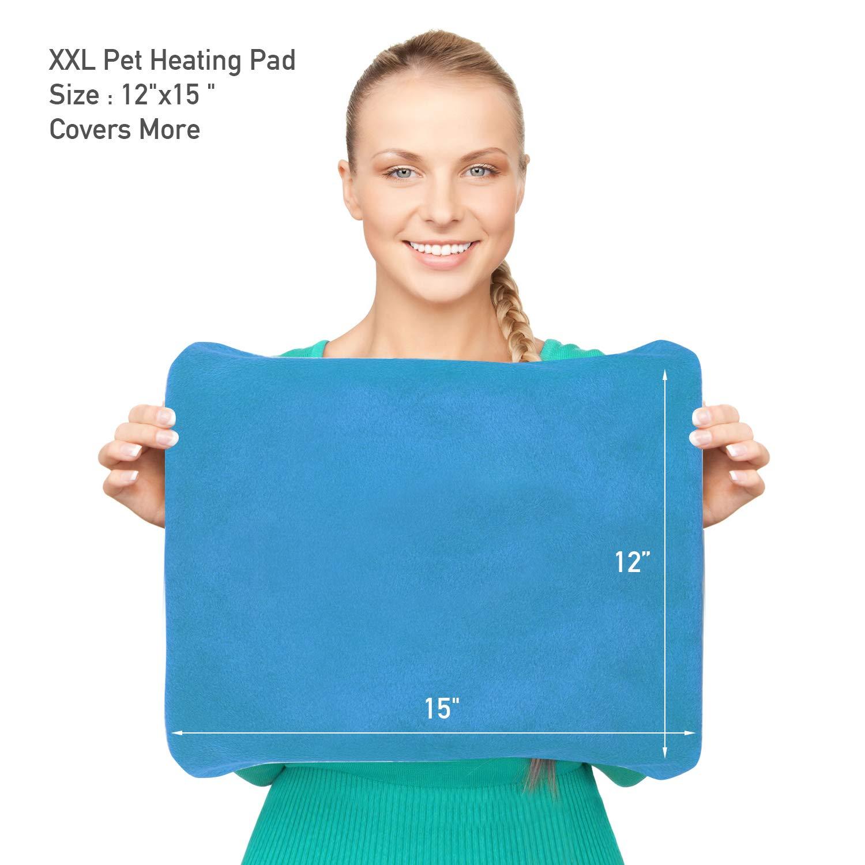 98736aa4e0 MARUNDA Pet Heating Pad,Dog Cat Pet Heating Pad Indoor Waterproof ...