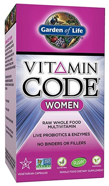 Amazoncom Garden of Life Multivitamin for Women Vitamin Code