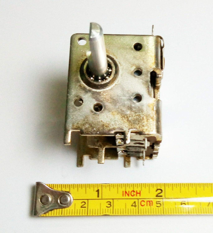 Condensador variable ajustable de 20 a 200 pf para afinador ...