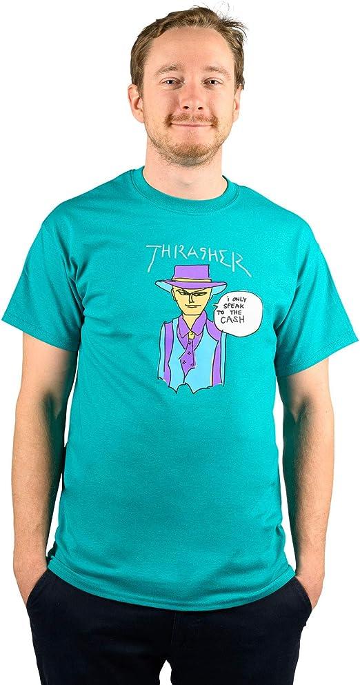 THRASHER GONZ CASH SS JADE GREEN