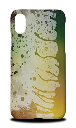 Amazon.com: Green Watercolor 91 Hard Phone Case Cover for ...