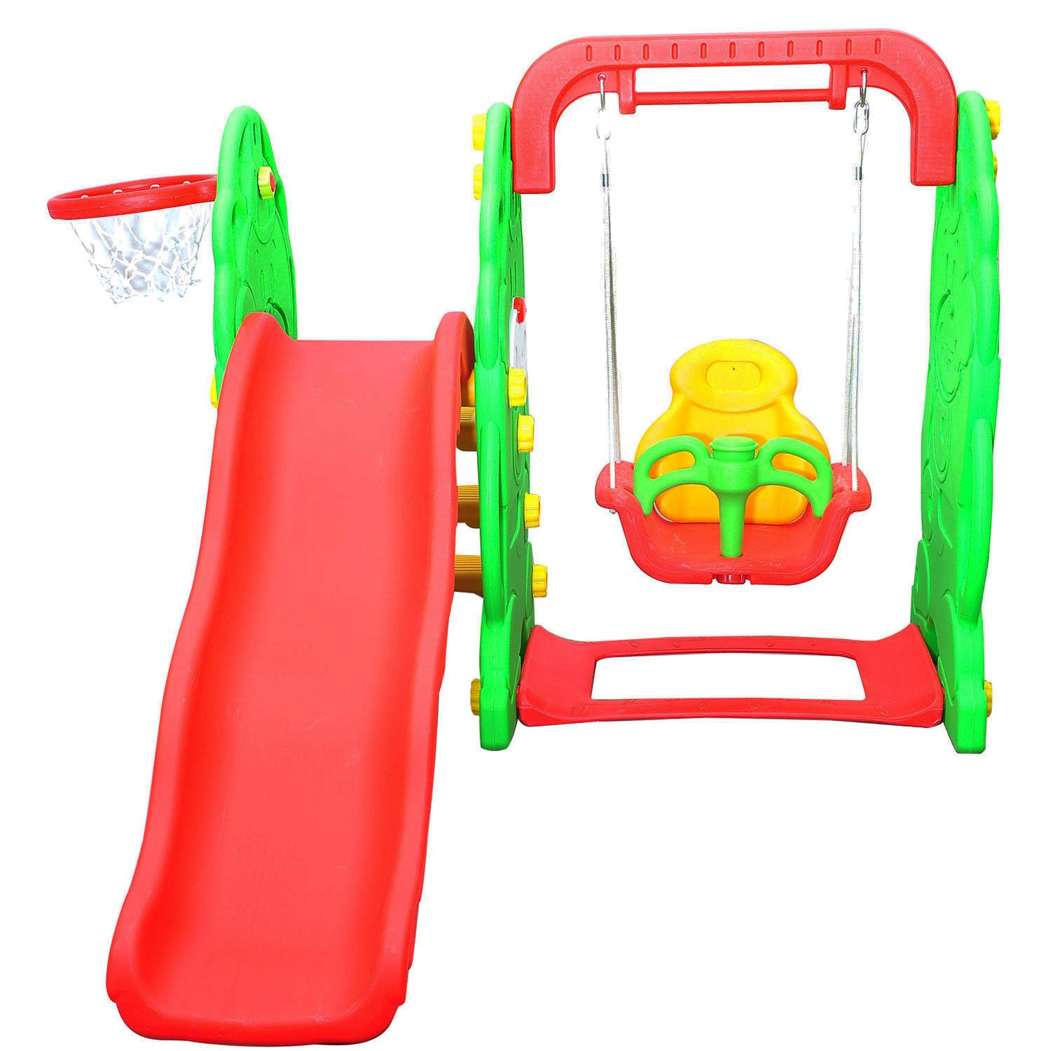 Hom Kids Garden Playground 3in1 with Swing Slide and