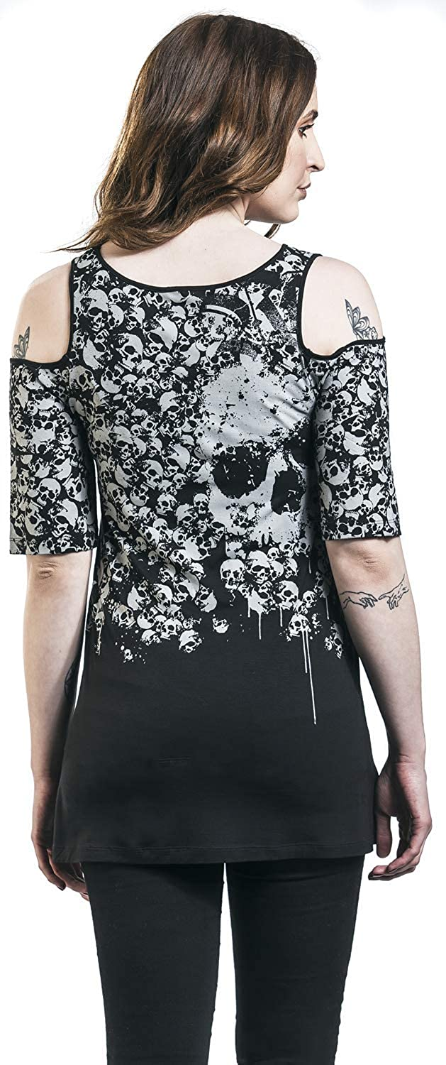 Rock Rebel by EMP The End of This Chapter Langarmshirt schwarz
