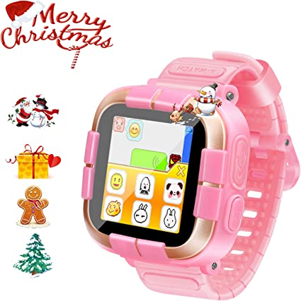 ZOPPRI Kids Game smartwatch Touch Screen Kinds of Games Kids Watch Theme Calendar Stopwatch Alarm Clock Photo Timer Multi-Function Watch Toy Gift for ...
