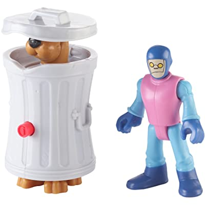 Fisher-Price Imaginext Scooby-Doo Hiding Scooby & Funland Robot - Figures, Multi Color: Toys & Games