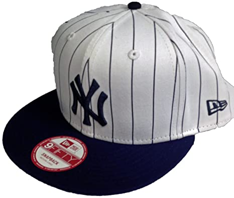 46043911e6c48 Image Unavailable. Image not available for. Color  NY Yankees 9Fifty Snapback  Hat - Pinstripe