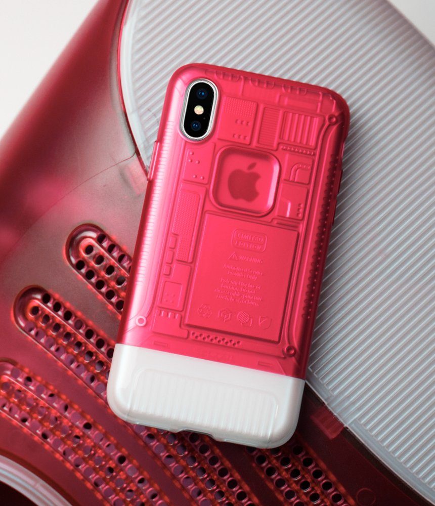 Spigen Classic C1 10th Anniversary Limited Edition Iphone X Case Inspired By Apple Imac Original Casing Grape With Air Cushion Technology For 2017 Ruby Electronics