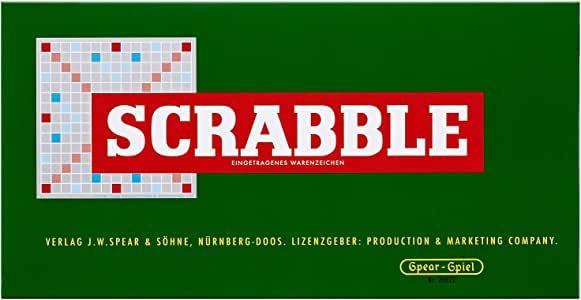 Piatnik 55011 - Aniversario de Scrabble Juego con Bloques de Madera (versión en alemán): Amazon.es: Juguetes y juegos