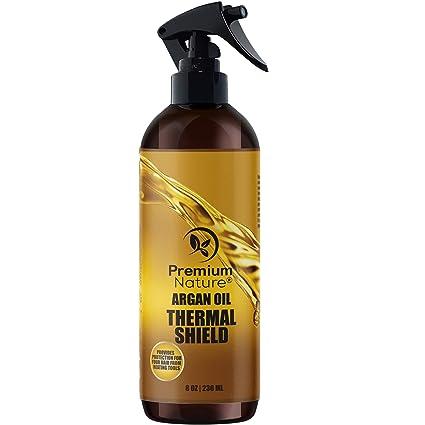Protector para pelo en aerosol de aceite de argán 100% orgánico