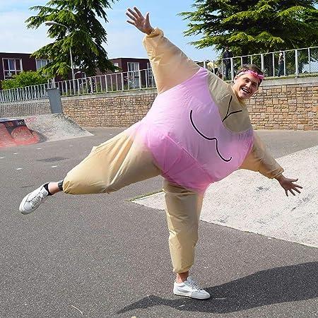 mikamax Aufblasbares Ballerina kostüm Rosa