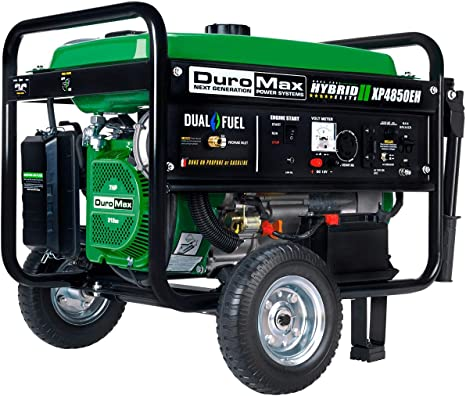 Amazon.com: Duromax XP4850EH - Generador portátil de doble ...