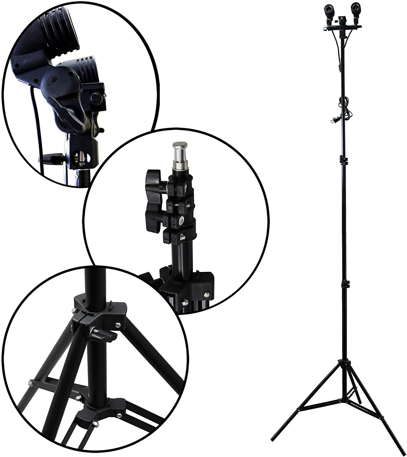 Bright Sun 1 Set Light Stand Tripod #BDMN