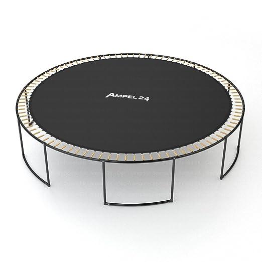 Ampel 24, Lona de Salto para Cama elàstica | Lona para trampolin con un diametro de 183-490 cm | 10-Doble Cosido | Resistente a la corrosión ya los ...