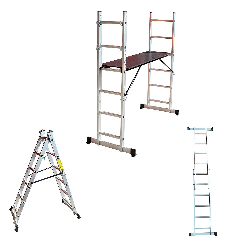 Aluminio Multi Andamio multifunció n Escalera escalera escalera –  Escalera Plataforma GARTLER