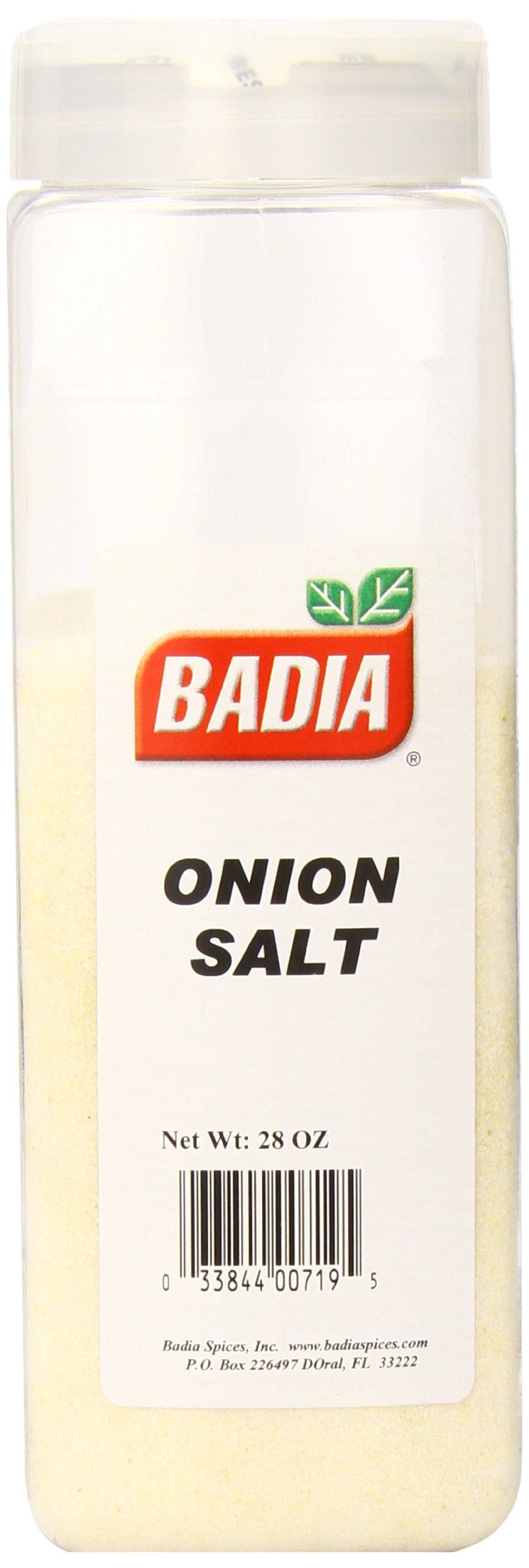 Badia Onion Salt, 28 Ounce (Pack of 6)