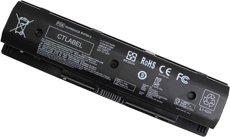 P106 P109 710416-001 710417-001 Notebook Battery for HP Envy 15 15t 17 15t-j000 15t-j100 Pavilion 14-E000 15-E000 15T-E000 15Z-E000 17-E000 17-E100 17Z-E100 Series PI06062-CL