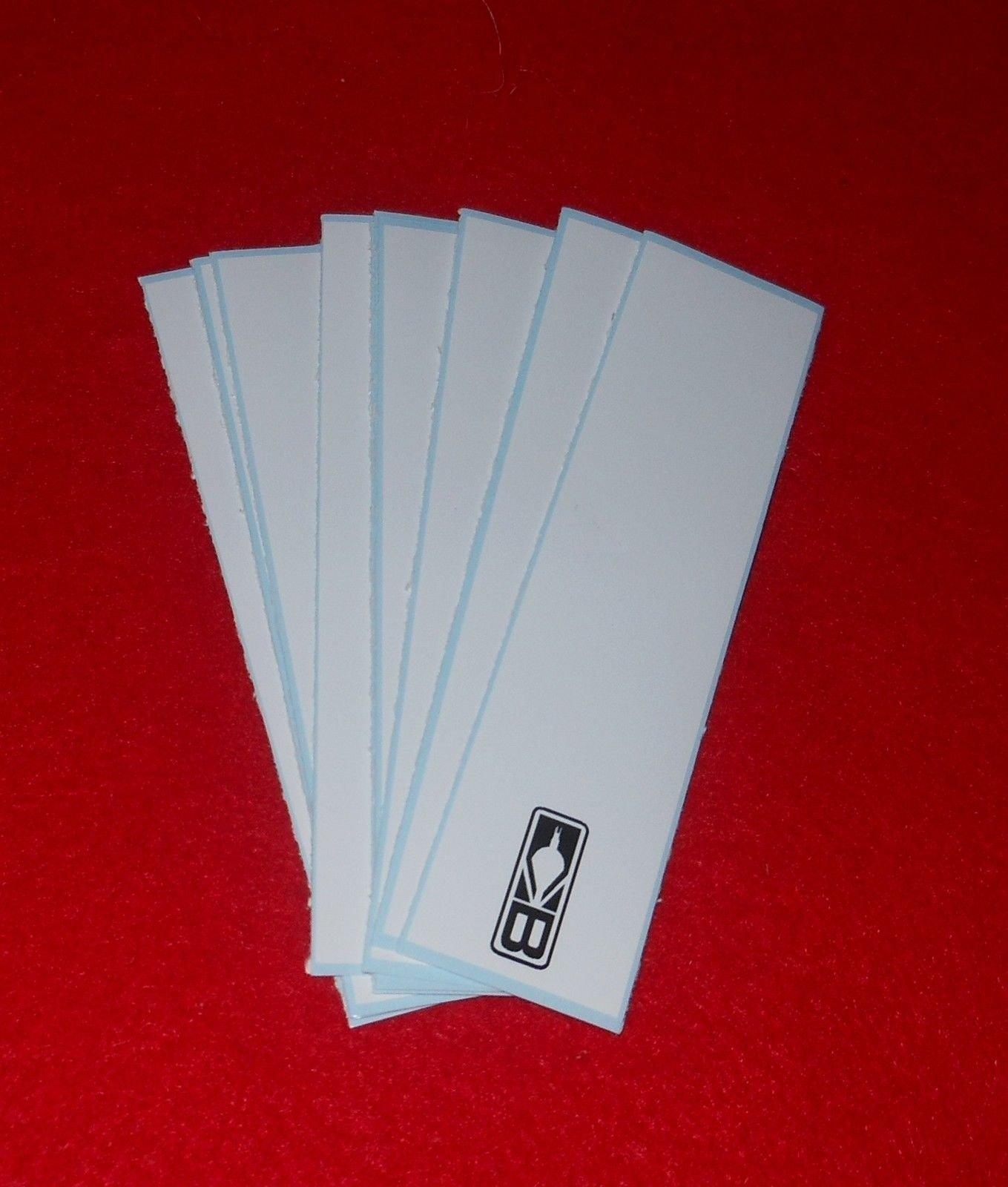 Blazer Arrow Wraps 4''x1'' White 1 Dz