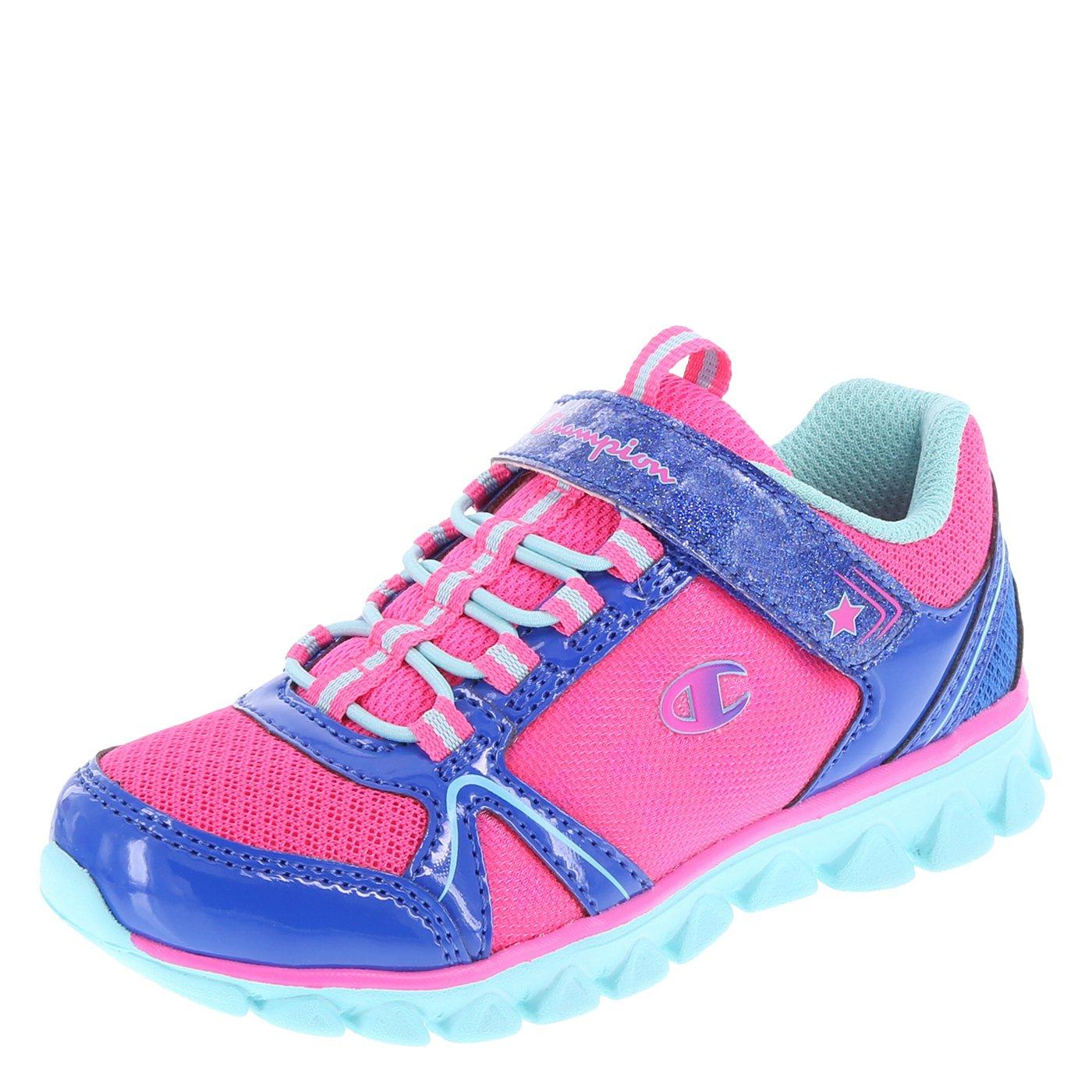 Champion Pink Blue Girls' Toddler Capri Runner 8.5 Regular
