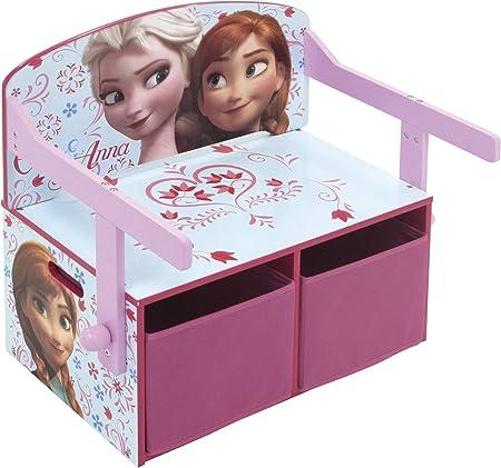 Disney Frozen - Juego de Mesa y Banco para niños (Plegable): Amazon.es: Hogar