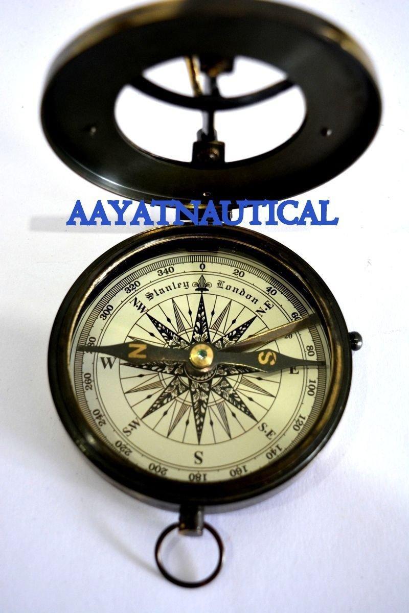 日時計コンパスHand Madeソリッド真鍮West LondonレプリカNice Item B073VFQ7M7