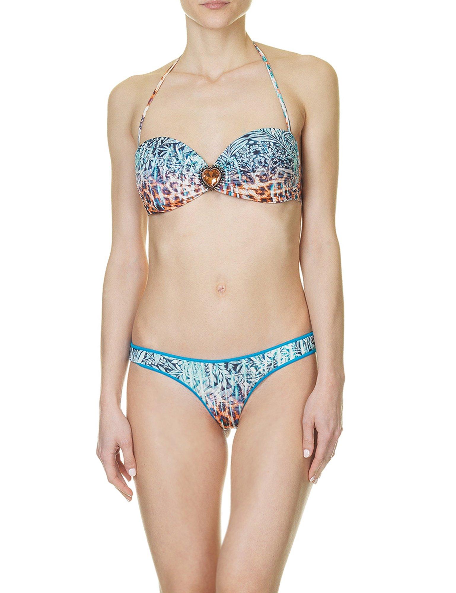 Despi Swimwear Women's In Love Tropi Bikini With Print in Size L Multicolour
