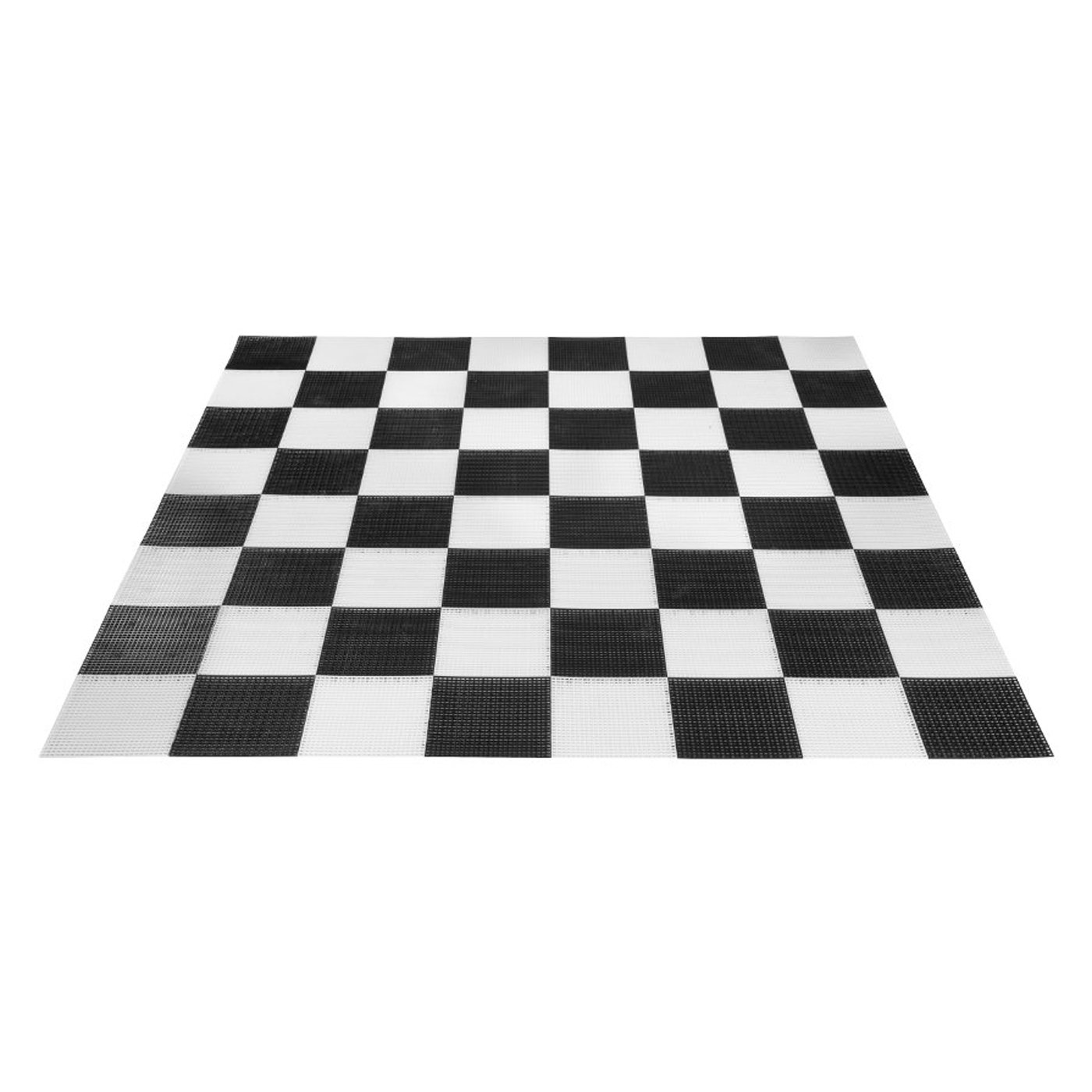 Uber Games Giant Chess Board - Black and White - Plastic - 304cm x 304cm