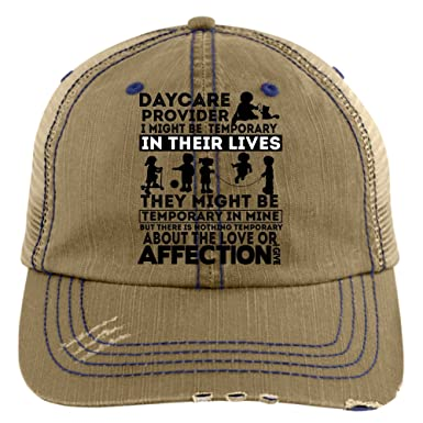 The Love I Give Hat, I'm A Daycare Provider Trucker Cap