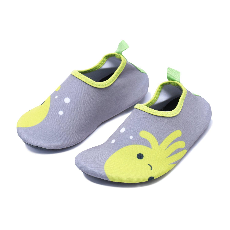 f2ab0d6ff2104 Galleon - WXDZ Kids Water Shoes Swim Shoes Mutifunctional Quick Drying  Barefoot Aqua Socks For Beach Pool