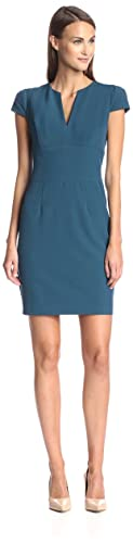 SOCIETY NEW YORK Women's Split Neck Sheath