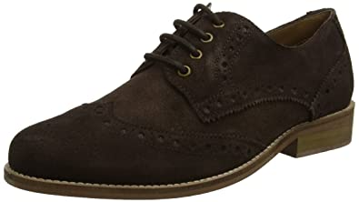 KG by Kurt Geiger GLOUCESTER2, Zapatos de Cordones Brogue para Hombre, Marrón (Brown), 43 EU