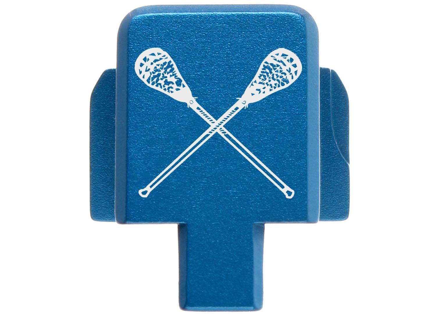 NDZ Performance for Sig P320 Rear Slide Plate 9MM .357 .40 .45 Blue Lacrosse Sticks Crossed