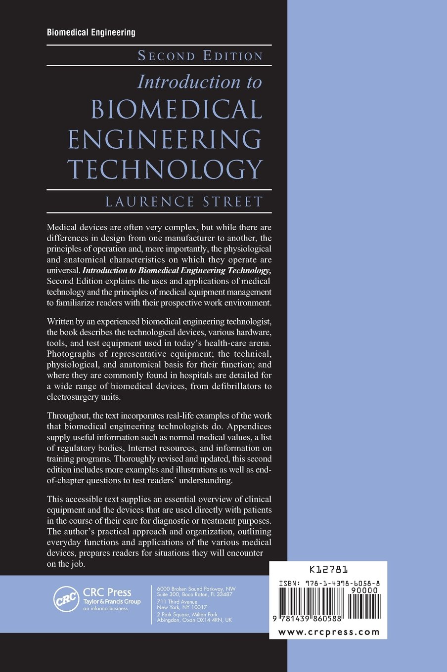 Buy Introduction to Biomedical Engineering Technology