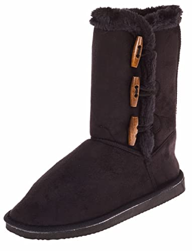 Ladies 10 Inch Winter Boot With Toggle