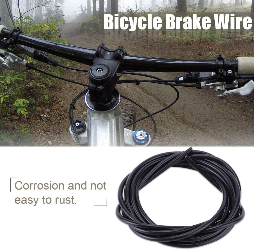 Blue 3M Bike Brake Wire Road Bike Brake Cable Mountain Bike Brake Replacement Cable Part AYNEFY Bicycle Brake Cable