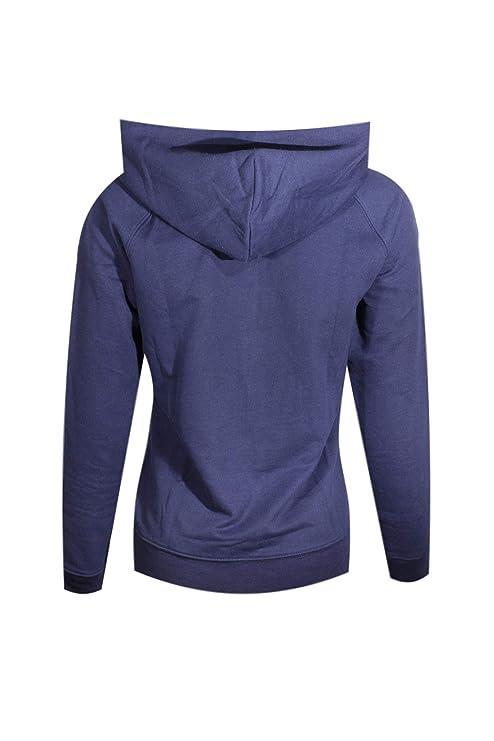 GAP Womens Fleece Arch Logo Sudadera con cremallera completa (X-Large, Azul): Amazon.es: Ropa y accesorios