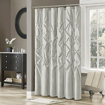 Amazon Madison Park Laurel Shower Curtain Grey 72x72 Home
