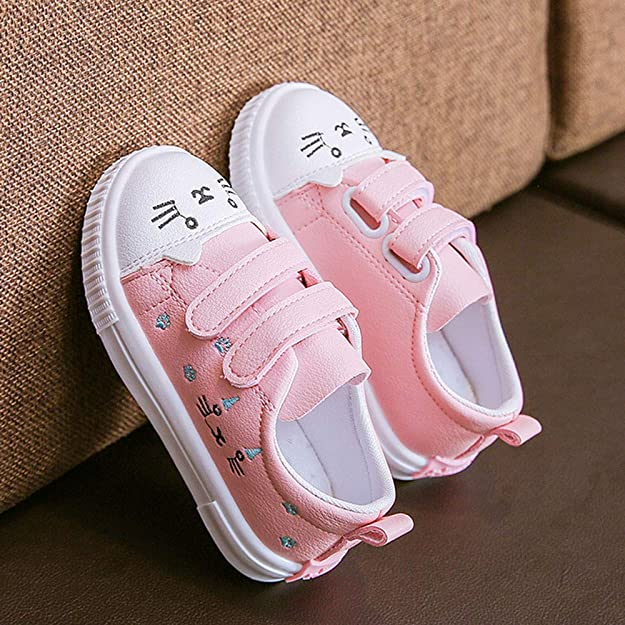 6c3633e84903 Amazon.com  OCEAN-STORE Kids Boys Girls 6 Months-3T Sneakers Sports Running  Shoes Baby Shoes Blue  Shoes