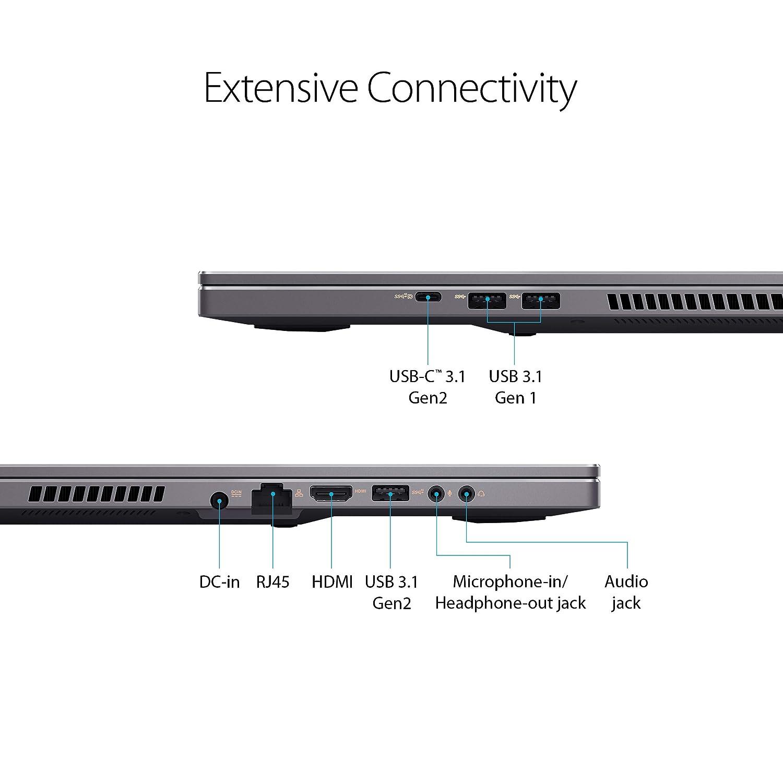 ASUS ProArt StudioBook Pro Ports