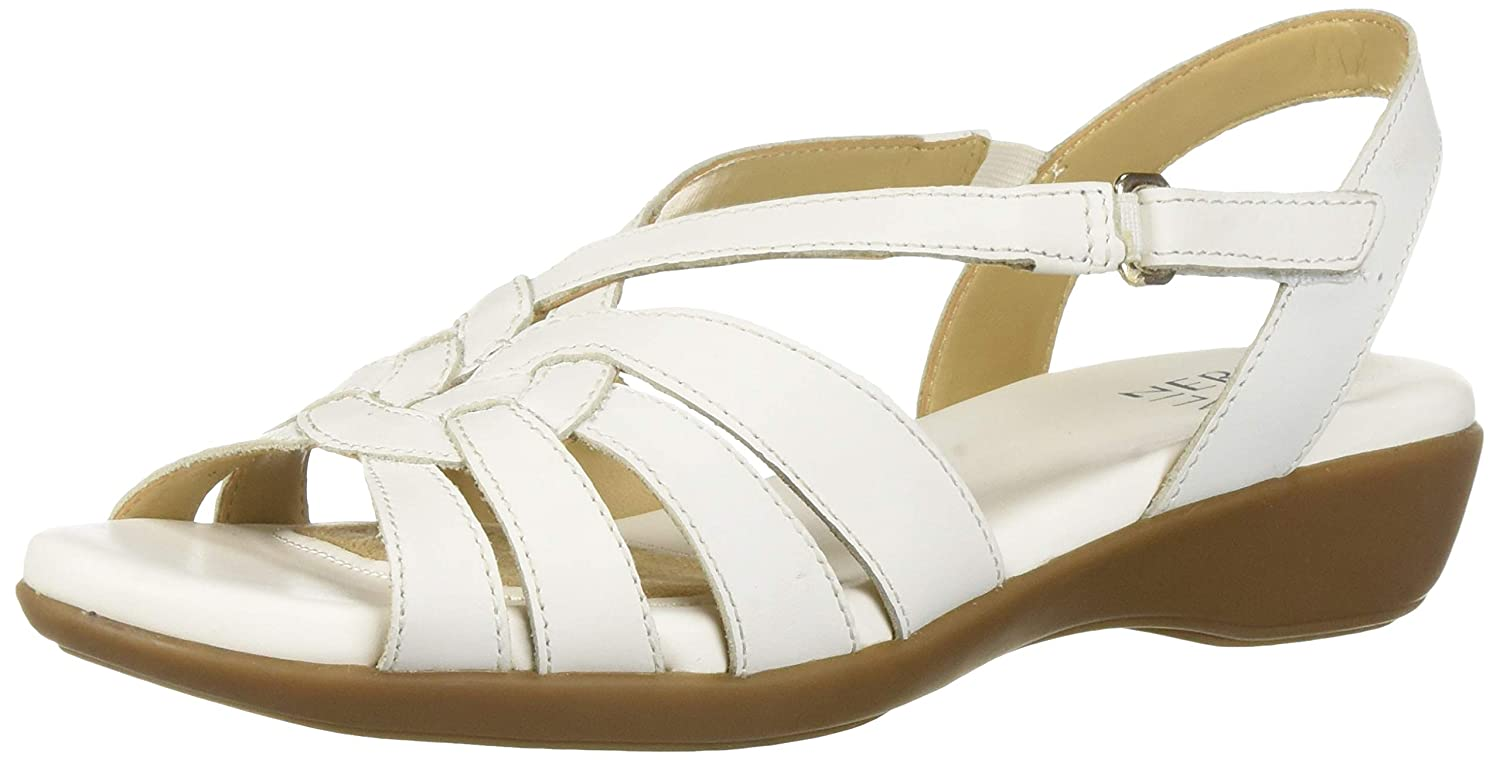 White Leather Naturalizer Women's Arianna