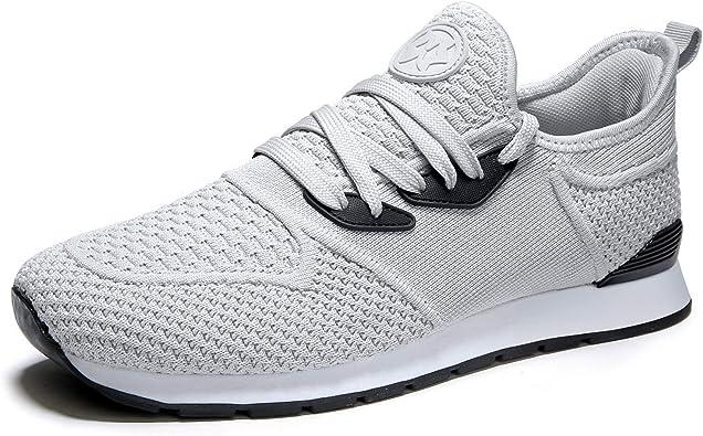 Hombre Zapatillas Deportivas de Mujer Gimnasia Ligero Zapatillas de Running Fitness Sneakers Caminar Zapatos Exterior Casual Yoga Calzado: Amazon.es: Zapatos y complementos