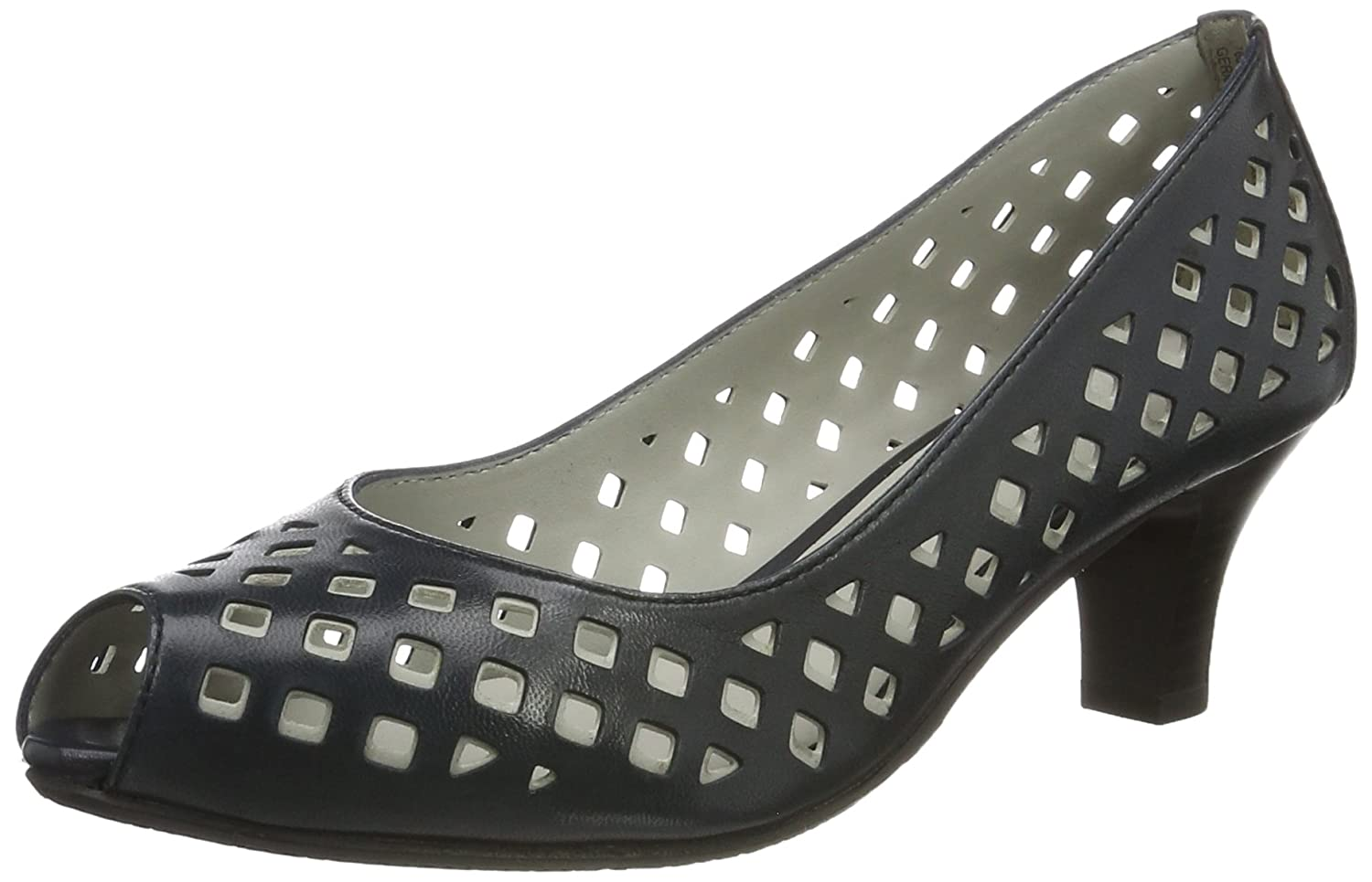 Kitty 01, Womens Peep-Toe Pumps Gerry Weber